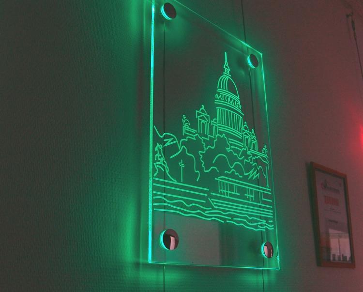 Как сделать матовое стекло на стекле светильника